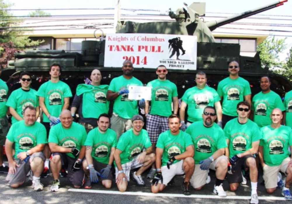 5th Annual New Jersey Knights of Columbus Tank Pull